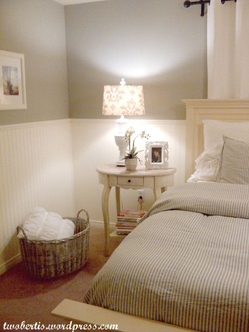 pottery barn inspired master bedroom makeover wall color
