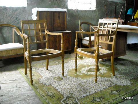 cadeiras de braços: 2 em armazém