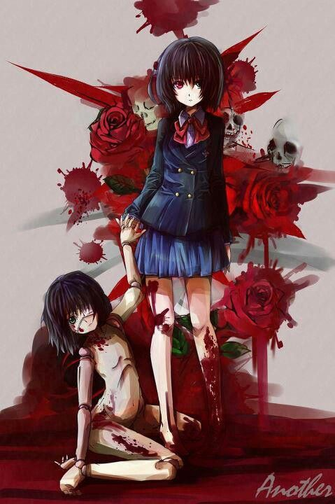 Another anime art 3 pinterest fanart just love for Imagenes de anime gore