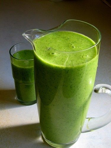 Green smoothies. Forget the funky ingredients--need me some dark green leaves and probiotics. Blend Greek yogurt, kefir, a banana (this is the key to a good green smoothie), a peeled McIntosh apple, frozen fruit (blueberries, dark sweet cherries, mangoes, pineapple, strawberries, all of them, if you want!), red chard, kale, and spinach together for something that tastes like a milkshake and packs a punch like a plate full of greens.