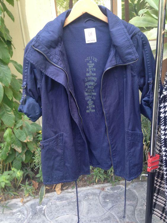 The XDYE basic apparel jacket, Size: EUR: Small, Price: 90QAR