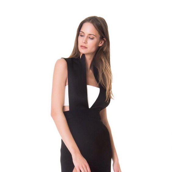 Iconic Deep V Neck Evening Gown, #mybestfriendstr