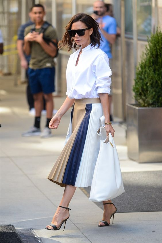Why Pleated Skirts Are Big News�
