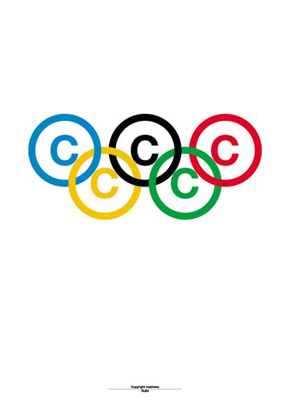 who designed the olympic flag