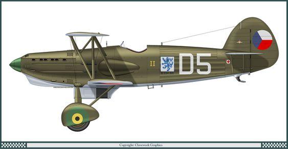 Avia B.534-II Czech Air Force (1938)