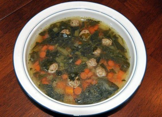 Gluten Free Italian Wedding Soup