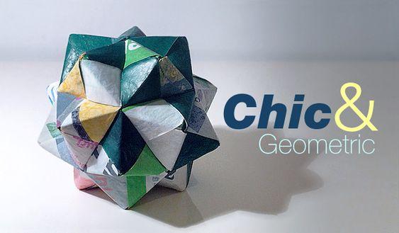 medium-sized icosahedral origami:
