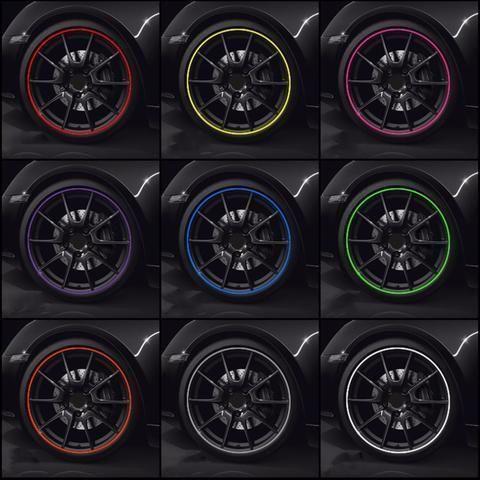 Hot 8M Pro Car Wheel Rim Protector Roll New Styling IPA Rimblades Car Tire Trim