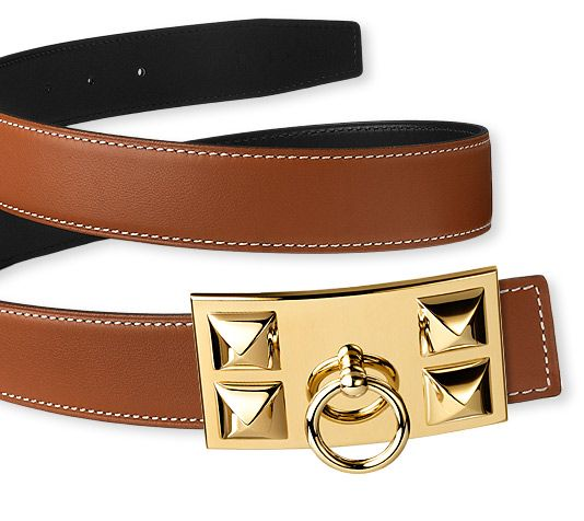 hermes mens bags - Hermes Belt. Reversible. Shown here with gold plated Collier de ...
