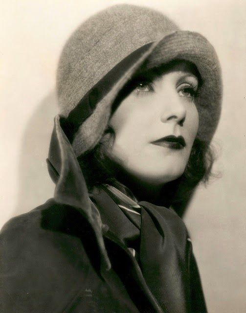 Silence is Platinum - Greta Garbo