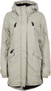 Bench Tara 2 W Jacke beige - schöner Wintermantel für Frauen