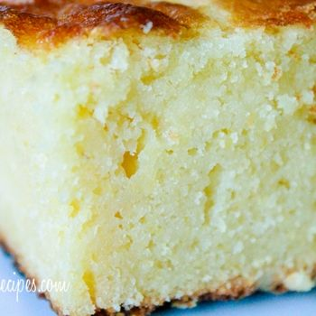 """Moist Sweet Cornbread Recipe. A Real Favorite! 1/2 Recipe fits 10"""" cast iron skillet.  Delicious - Moist and sweet like it says - Not heavy or dry -Delicious with honey butter - by Country Comfort"""