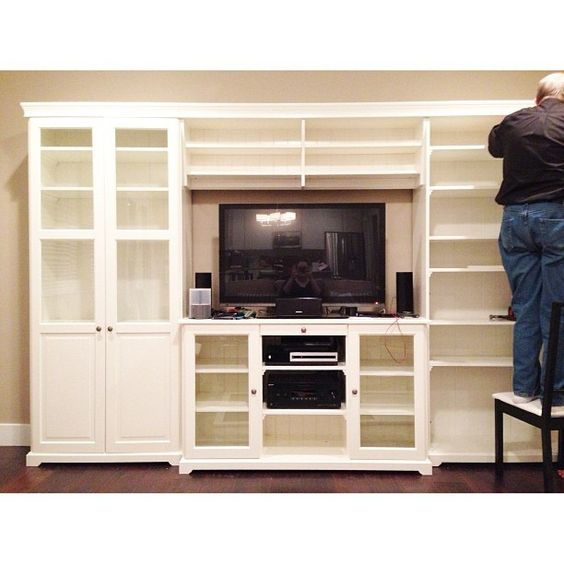 Ikea Entertainment Center Kristina Werner Photo By