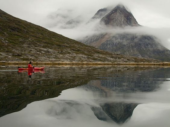 Kayaking Picture - Greenland Photo - National Geographic Photo of the Day - via http://bit.ly/epinner