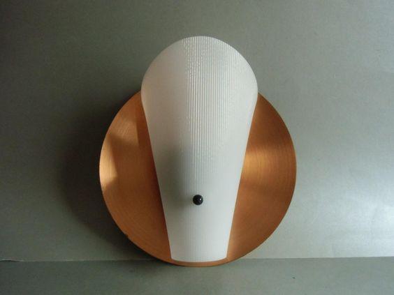 LAMPE - TÜTENLAMPE 50er Jahre - Wandlampe von MaDütt auf DaWanda.com