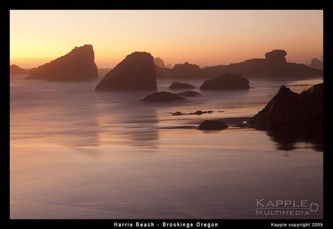 Love Harris Beach on the Oregon coast - a must stop.  Camping is a true treasure here. They even have ice cream delivery!