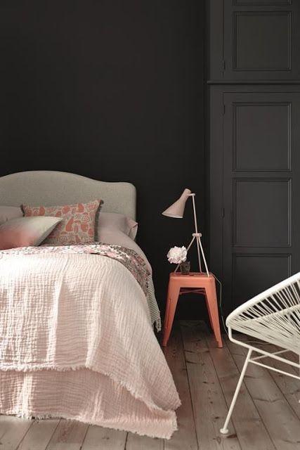 ATELIER RUE VERTE , le blog: Collectif Project Inside / Couleur foncée dans la chambre /:
