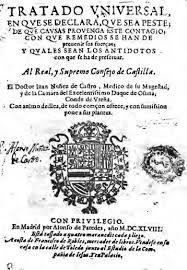 Juan Núñez de Castro Tratado uniuersal en que se declara, que sea peste - Búsqueda de Google