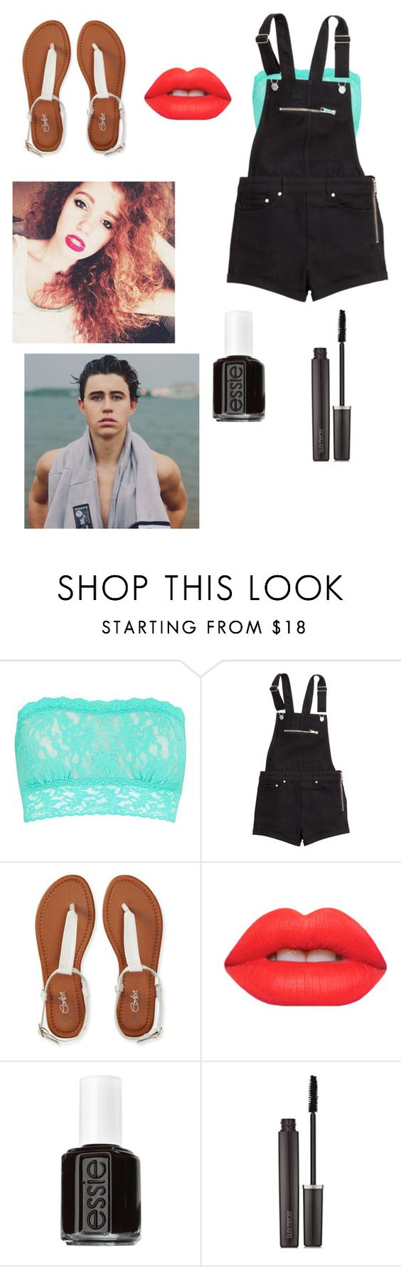 """""""Hanging with The LOX and Nash-Bash"""" by its-sarah02 ❤ liked on Polyvore featuring Hanky Panky, H&M, Aéropostale, Lime Crime, Essie, Laura Mercier, women's clothing, women's fashion, women and female"""