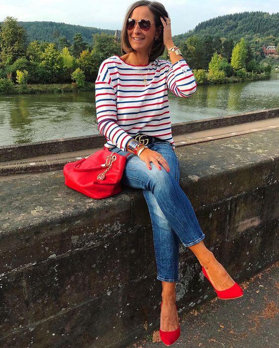 """Tanja 🌸Daily Outfits & Details on Instagram: """"Guten Morgen ihr Lieben ❤️💙Einen schönen Samstag wünsche ich euch, startet gut ins Wochenende ❤️💙…"""""""