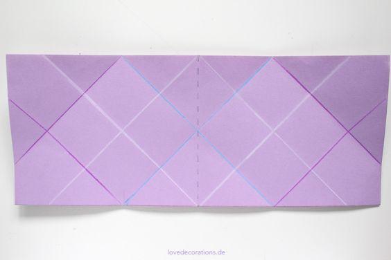 DIY Origami Vase #2 13