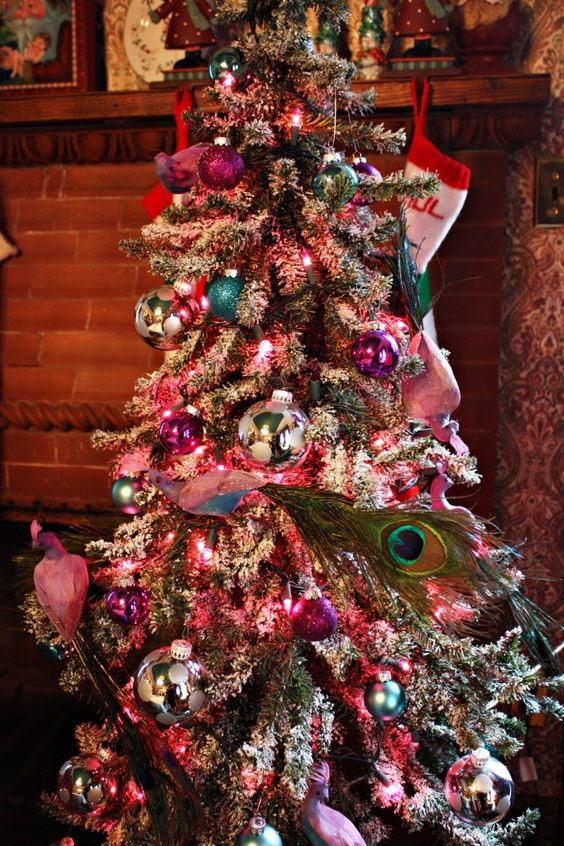 One Creative Couple's Dining Room Tree