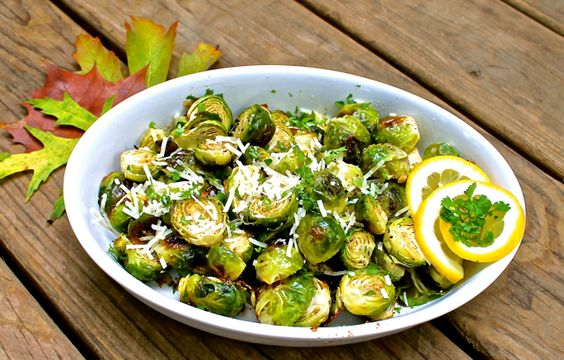 Brown Buttered Brussels Sprouts