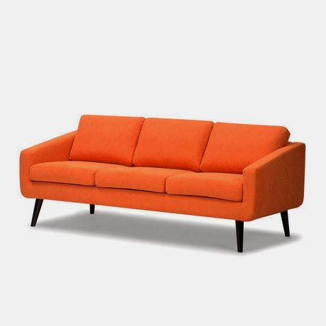 """Danish"" sofa - inspired by the modernist Bauhaus design school"