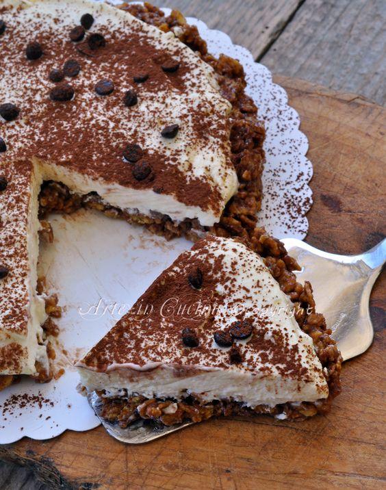 Torta rose del deserto alla nutella corn flakes vickyart arte in cucina