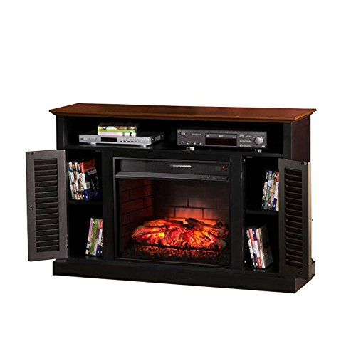 Bowery Hill Infrared Electric Fireplace Tv Stand With Images