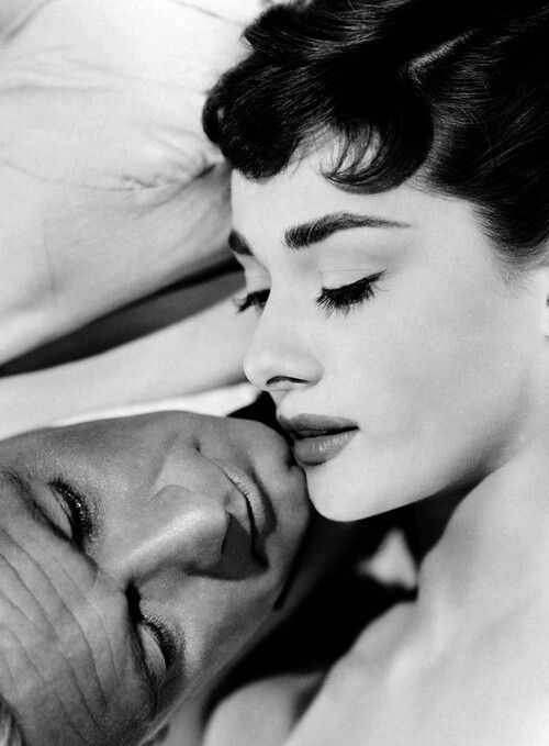 "Audrey Hepburn and William Holden, ""Sabrina"" 1954"