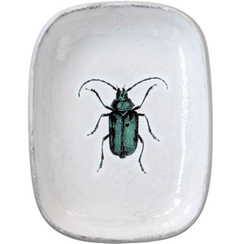 John Derian Company Inc — Green Insect Platter