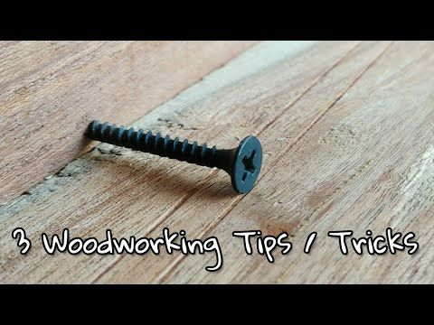Woodworking Tips And Tricks Youtube