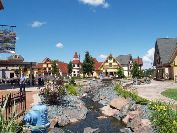 Frankenmuth Village, Michigan