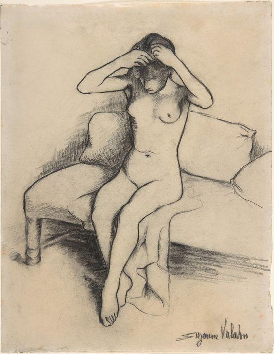 Suzanne Valadon - Nude:
