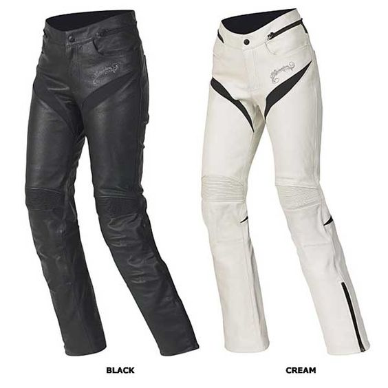 Lastest Home Gt Women39s Gear Gt Pants Gt Womens Mona Leather Motorcycle Pants