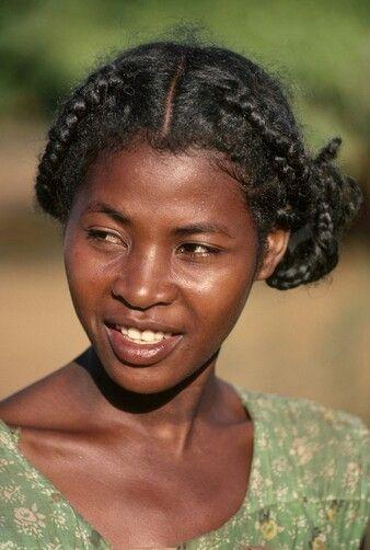 beautiful black indonesian lady