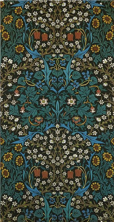 William morris, Patterns and Tapestries on Pinterest