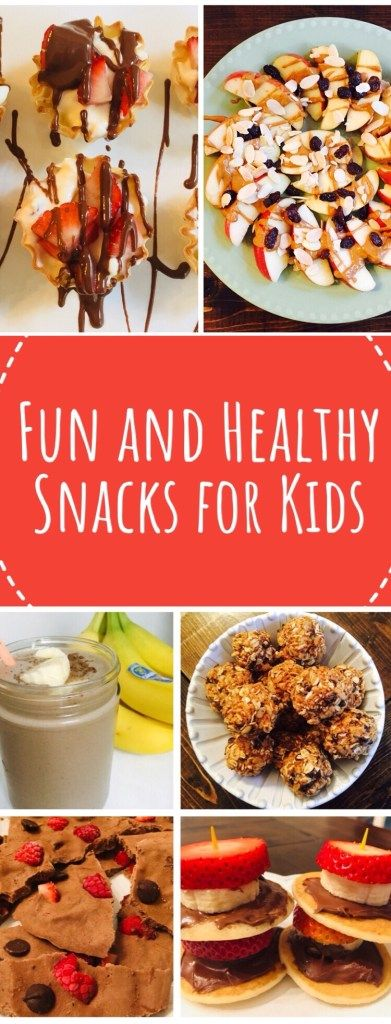 Fun and Healthy Snacks for Kids ....