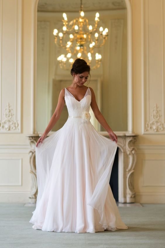 Clementine. Perfection would love this as a dress to renew my vows