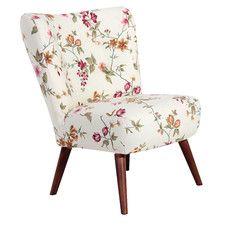 Sessel Neele aus Flachgewebe