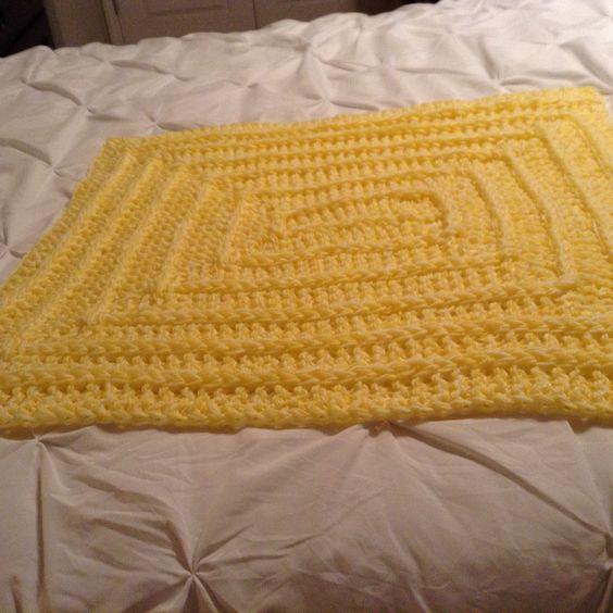 Knitting Loom Blanket : Stitch blanket knitted on a zippy loom