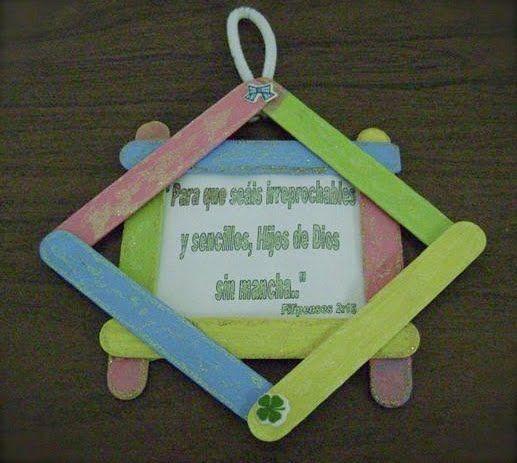 Image gallery manualidades biblicas - Manualidades con bebes ...