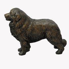 Standing Great Pyrenees - small bronze sculpture