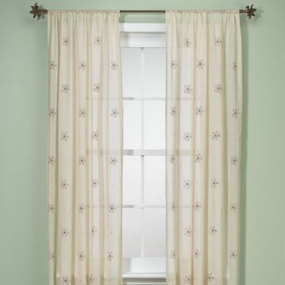 Kids Line Julia Window Panel Pair - buybuyBaby.com | Curtains for ...