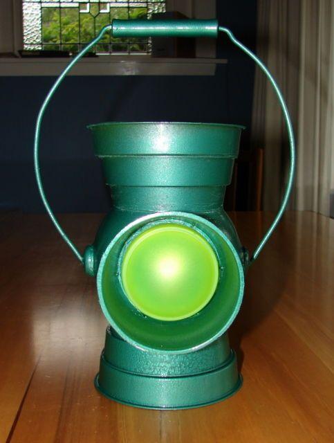 diy green lantern