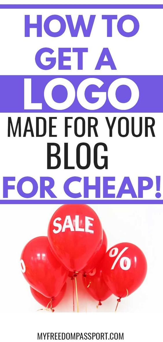How to Get a Logo Made For Your Blog For Cheap!