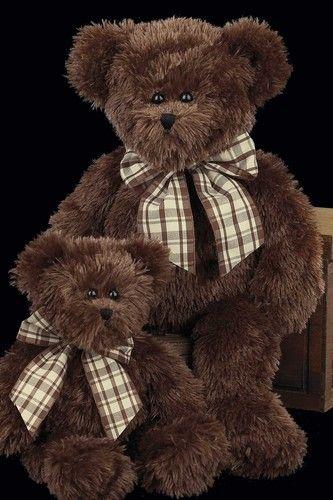 brown.quenalbertini: Bosco and Baby Bosco | Bearington Collection
