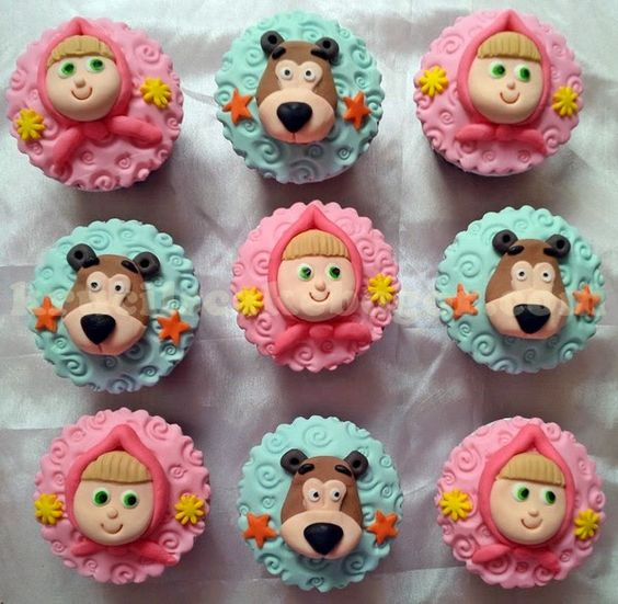 masha and the bear cake - Buscar con Google: