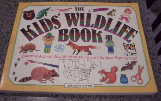 """""""The Kids Wildlife Book"""" EXPLORING ANIMAL WORLDS THROUGH INDOOR/OUT EXPERIENCES"""